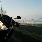 朝1で、名古屋港へお散歩