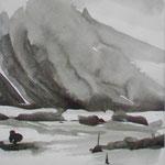 Sturm, Chin. Tusche, 2015