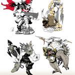 Tales of War miniature designs