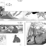 "Storyboard for ""El Cid, the Legend"" (Filmax Animation)"