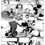 """Barcelona TM"" comic (script: Damian Campanario)"