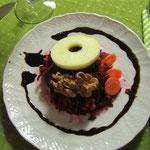 Rote-Beete-Möhren-Apfelsalat