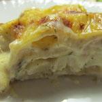 Schwarzwurzel-Lachs-Lasagne