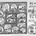 貧乏リススリミちゃん 四畳半すごろく(「別冊ねぶか」2号より)