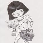 「ファッション通信」指輪の女の子