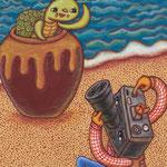 「なんでなんだかなんでもカルタ」 カメからひょっこり カメとる カメラ