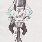 「ファッション通信」紫外線の女