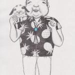 「ファッション通信」ウサギおじさん