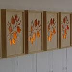 24 Hour Lightboxes  by Bridgette Buckley Studio