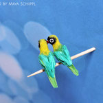 1:12 SCALE PARROT COUPLE