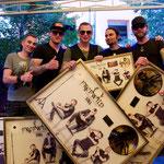 Goldverleihung Freiwild Still-Album