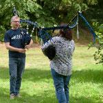 Outdoor Probe mit Celtic Euregio Pipes & Drums 2020
