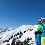 Skifahren auf der Schmitten