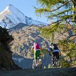 Mountainbiken auf das Kitzsteinhorn