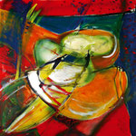 """Fruit"", Acryl, Leinwand, 0,80x0,80"