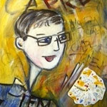 """Spiel des Lebens"", Acryl, Leinwand, 0,60x0,40"