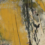 """""""Räume 1"""", Acryl, Leinwand, Hartfaser, 1,00x1,00"""