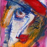 """""""Mona"""", Acryl, Leinwand, 0,40x0,40"""