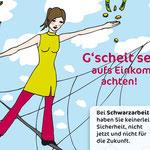Illustration für Jobplan Werbekampagne