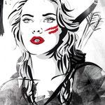 Illustration für Magazin MISS