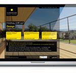 Screendesign für Fussenegger Holzbau