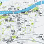Illustration für Tourismusverband Linz