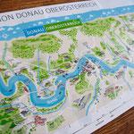 Illustration für Donau Oberösterreich Tourismus