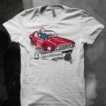 goodshoots T-Shirt Siebdruck mit auf Wunsch angefertigter Illustration