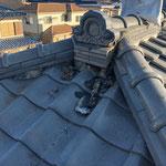屋根漆喰 施工前