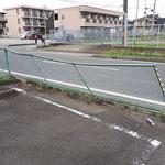 フェンス取り替え前