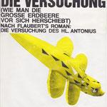 Alfons Egger Die VERSUCHUNG 1980 PLAKAT