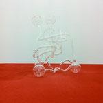 "Alfons Egger ""ohne Titel""2011Glas,Dispersion,Holz204cmx188cmx220cm"