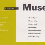 Alfons Egger Hans Widauer Kurator 1995 MUSEUM