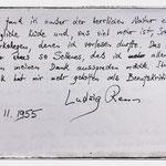 Ludwig Renn (1889 - 1979) lobte neben der guten Küche auch das Verhältnis zu den anderen Gästen.