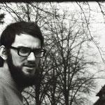 Der Schriftsteller Wolfgang Knape während eines Seminargruppenaufenthaltes des Literaturinstituts. Februar 1976.