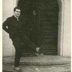 Gut gelaunt trotz Winterkälte: Joachim Nowotny Ende der 60er Jahre.