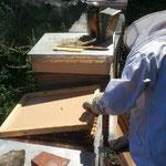 Bienenstock öffnern
