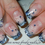 Glitterfrench, Stamping