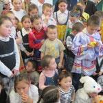 Enfants Nientsy, sédentarisés l'hiver - Vorkouta 19.01.14
