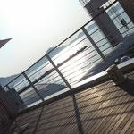 松山観光港 2階 ベイクレールテラスより