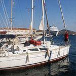 Segelturn in Griechenland 2010