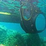 Aquavision type Aquascope vue sous-marine