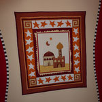 Dieses Bild hängt in meinem Windfang und ich habe es mit passender Wandbemalung eingerahmt...