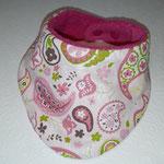 Paisley rosa-grün
