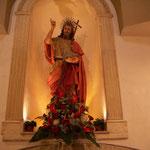 Altare con statua San Giovanni