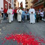 La processione con il Fercolo