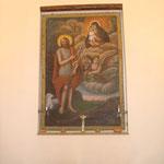Dipinto San Giovanni ai piedi della madonna