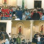 La comunita' con il Vescovo