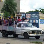 Transportaltarnative während des Busfahrerstreiks