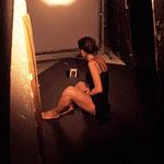 Backstage sessione con Federica Fontana